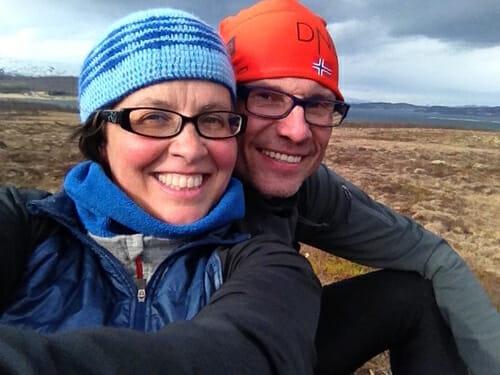 Silvia et Vidar de l'agence Creative Vacations.